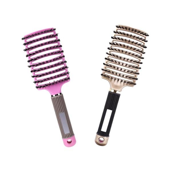 La brosse à cheveux démêlante